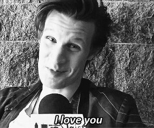 doctor who, I Love You, and matt image