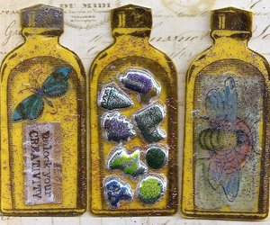 art, insect, and artist trading card image