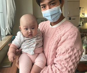 actor, asian, and baby image