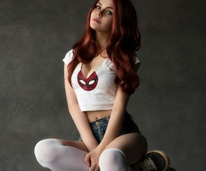 cosplay, spidergirl, and girl image