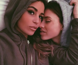 cuddling, gay, and lesbian image