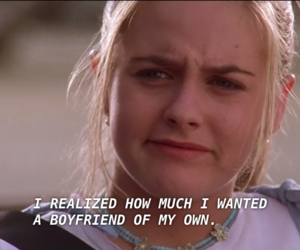 Clueless, alicia silverstone, and boyfriend image
