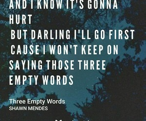 illuminate, shawn mendes, and three empty words image