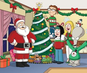 american dad, roger, and xmas image