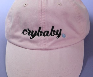 crybaby, pink, and hats image