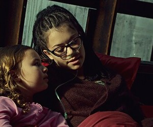 helena, evelyne brochu, and orphan black image