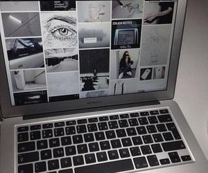 tumblr, grunge, and macbook image