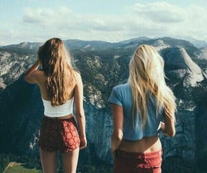 friends, travel, and best friends image