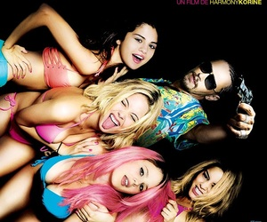 spring breakers, selena gomez, and vanessa hudgens image