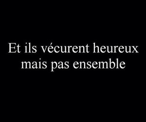 french, love, and quote image