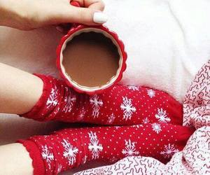red, christmas, and cozy image