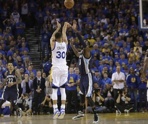 Basketball, NBA, and golden state warriors image