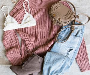 boots, bralette, and fashion image