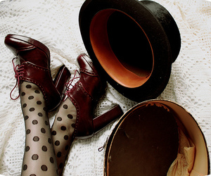 shoes and hat image