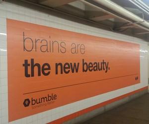 beautiful, ny, and brains image