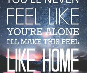 galaxy, home, and Lyrics image