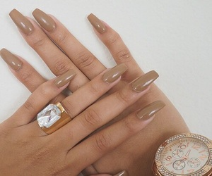 nails, ring, and watch image