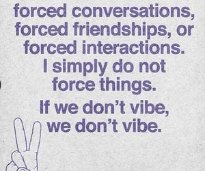 conversation, force, and friendship image
