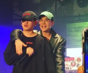 dean, crush, and kwon hyuk image