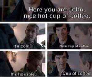 funny, 😂, and sherlock holmes image