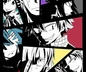 anime, fairy tail, and Rogue image