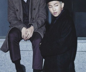 bts, jhope, and namjoon image