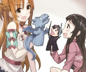 anime, sword art online, and yuuki asuna image