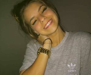 girl, adidas, and beauty image