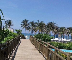 beach, beautiful, and mexico image