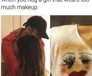 funny and girl image