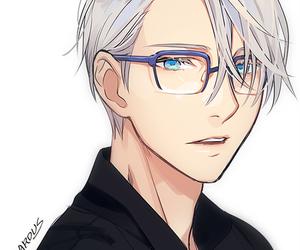 anime, kawaii boy, and love image