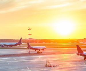 airplanes, airport, and background image