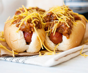 food, delicious, and hot dog image