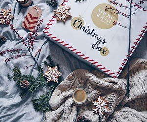 bed, christmas, and decor image