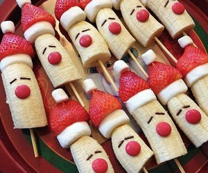 christmas, food, and fruit image