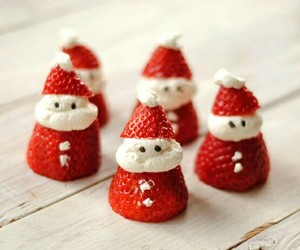 christmas, delicious, and fruit image