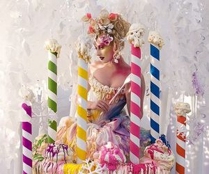 birthday cake, cupcake, and fairy tale image