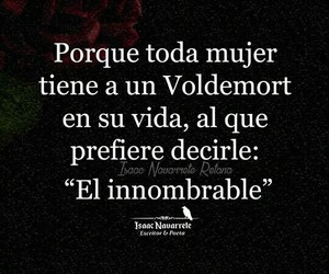amor, frases, and voldemort image