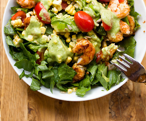 food, salad, and healthy image