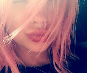 hair, pink hair, and pretty little liars image