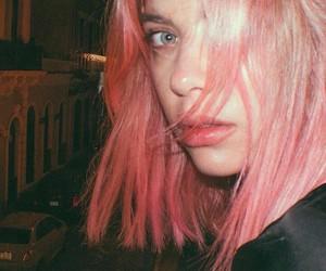 ashley benson, pink, and hair image