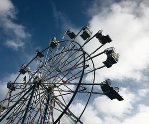 blue, victoria, and ferriswheel image