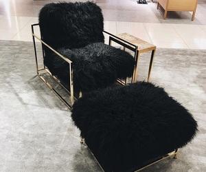 black, interior, and luxury image
