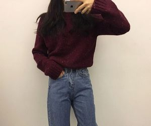 ulzzang, asian, and clothes image