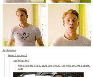 captain america, steve rogers, and funny image