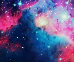 galaxy, colors, and stars image