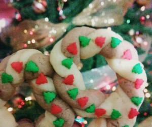 christmas, cookie, and christmas tree image