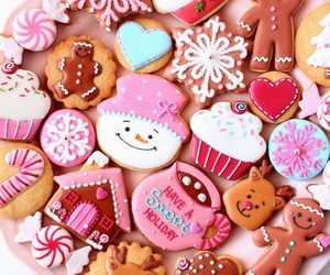 christmas, colors, and delicious image