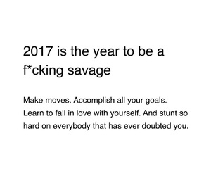 2017, new year, and quote image