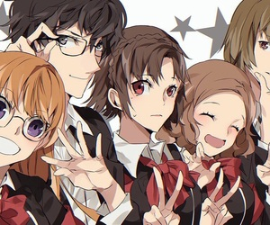 friends and persona 5 image